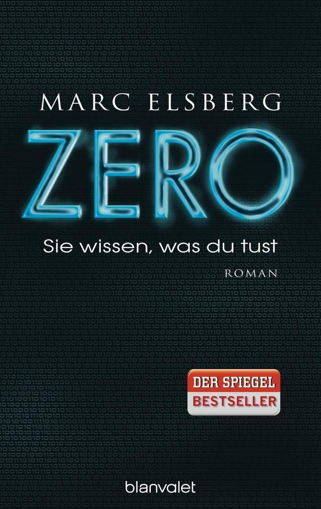 ZERO - Sie wissen, was du tust als Buch