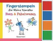 Fingerstempeln für kleine Künstler-Set - Feen und Fabelwesen