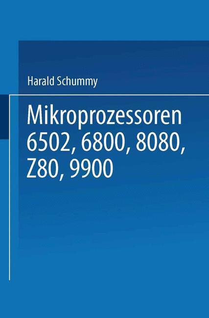 Mikroprozessoren als Buch von Harald Schumny