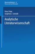 Analytische Literaturwissenschaft