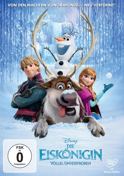 Die Eiskönigin - Völlig unverfroren, 1 DVD als DVD