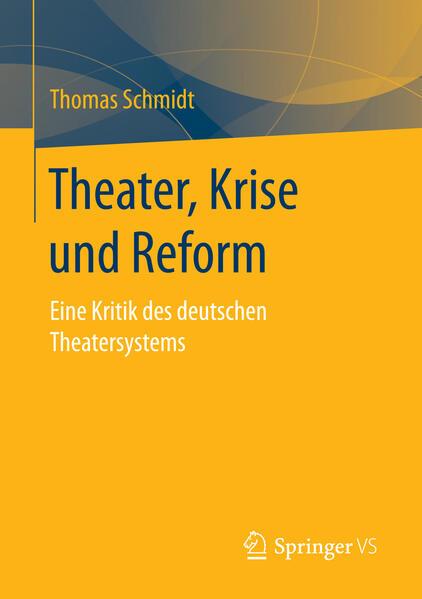 Theater, Krise und Reform als Buch