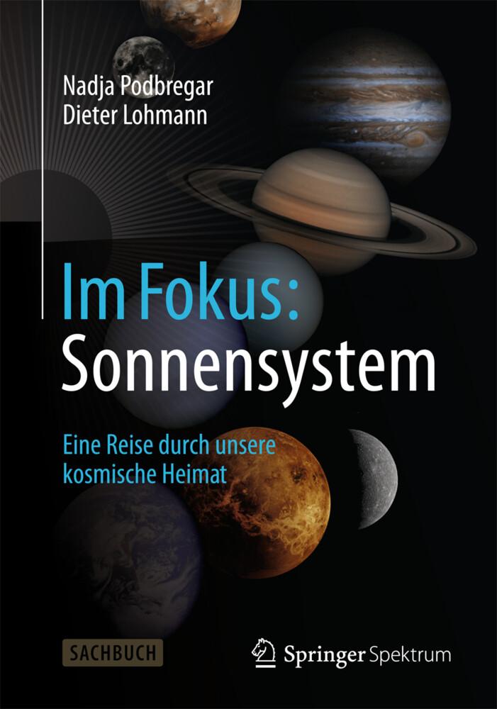 Im Fokus: Sonnensystem als Buch (kartoniert)