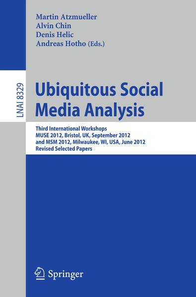 Ubiquitous Social Media Analysis als Buch von