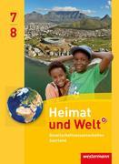 Heimat und Welt Gesellschaftswissenschaften 7 / 8. Schülerband. Saarland