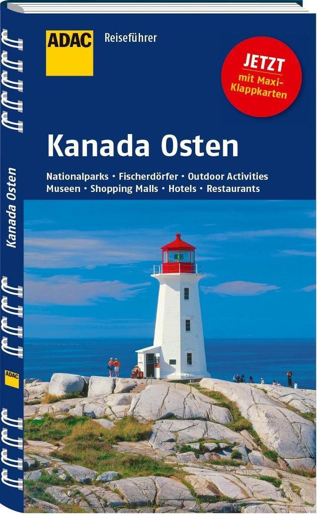 ADAC Reiseführer Kanada Osten als Buch von Andr...