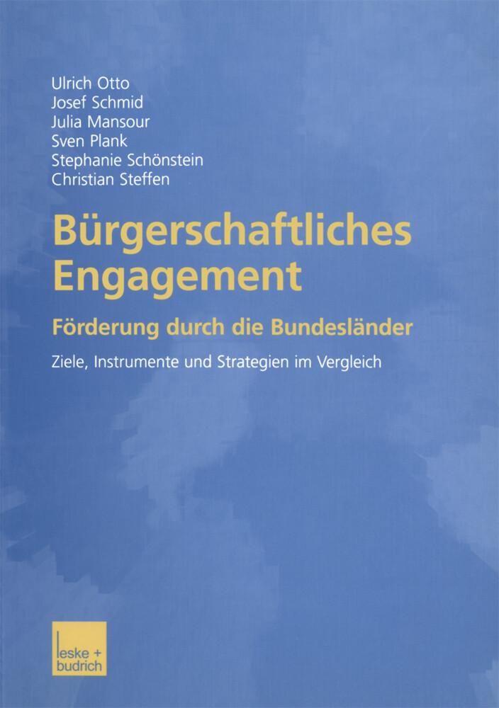 Bürgerschaftliches Engagement als Buch von Juli...