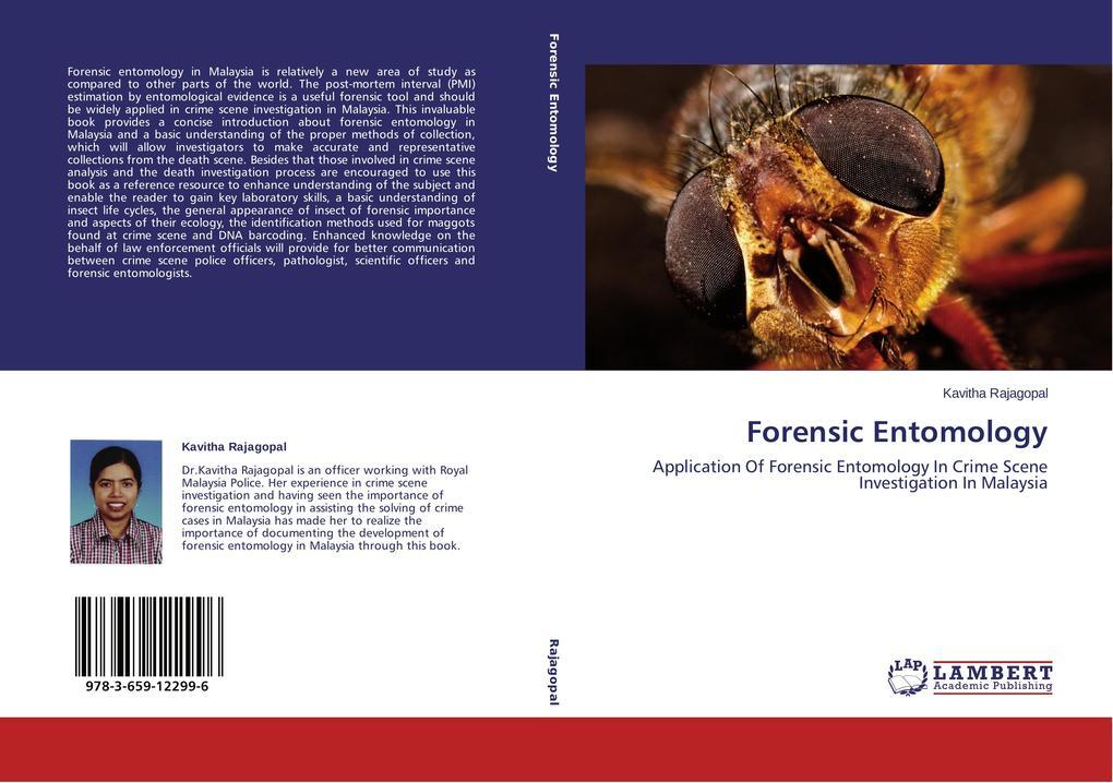 Forensic Entomology als Buch von Kavitha Rajagopal