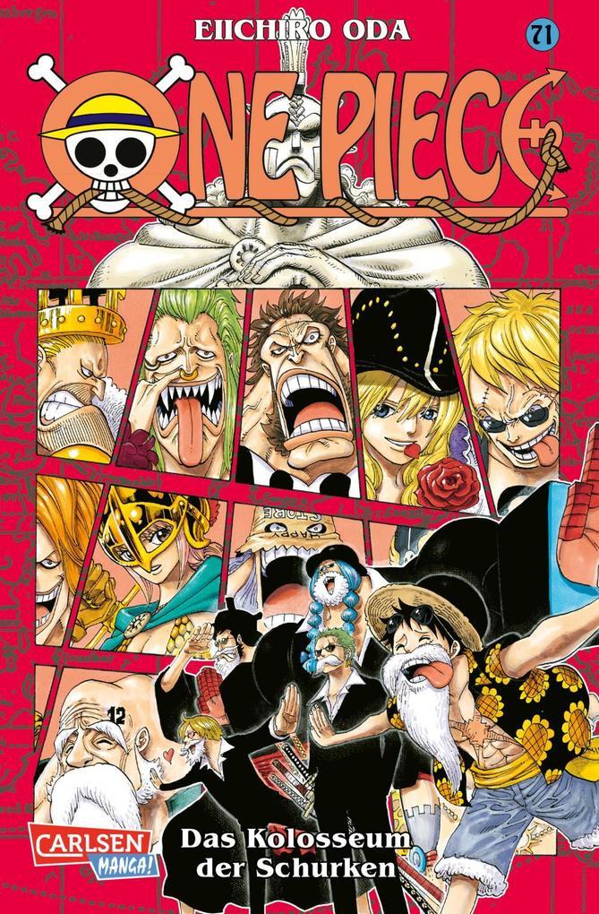 One Piece 71. Das Kolosseum als Buch von Eiichi...