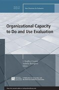 Organizational Capacity to Do and Use Evaluation