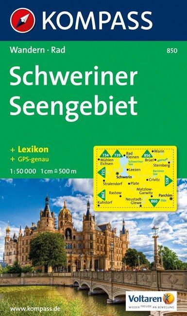 Schweriner Seengebiet 1 : 50 000 als Buch von