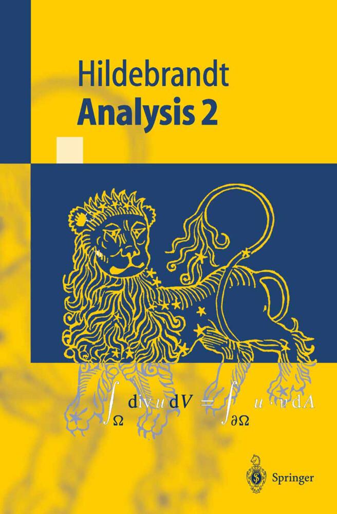 Analysis 2 als Buch
