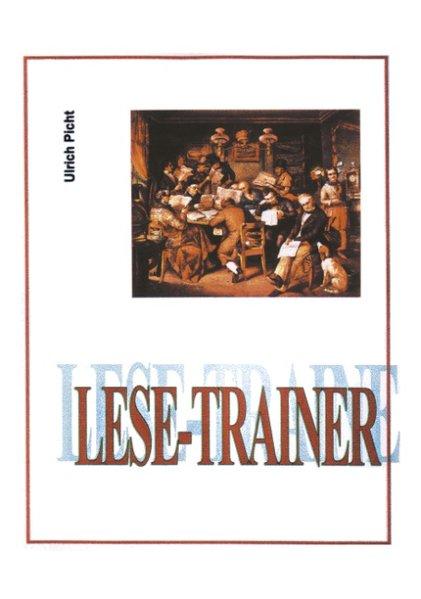 Lese - Trainer als Buch