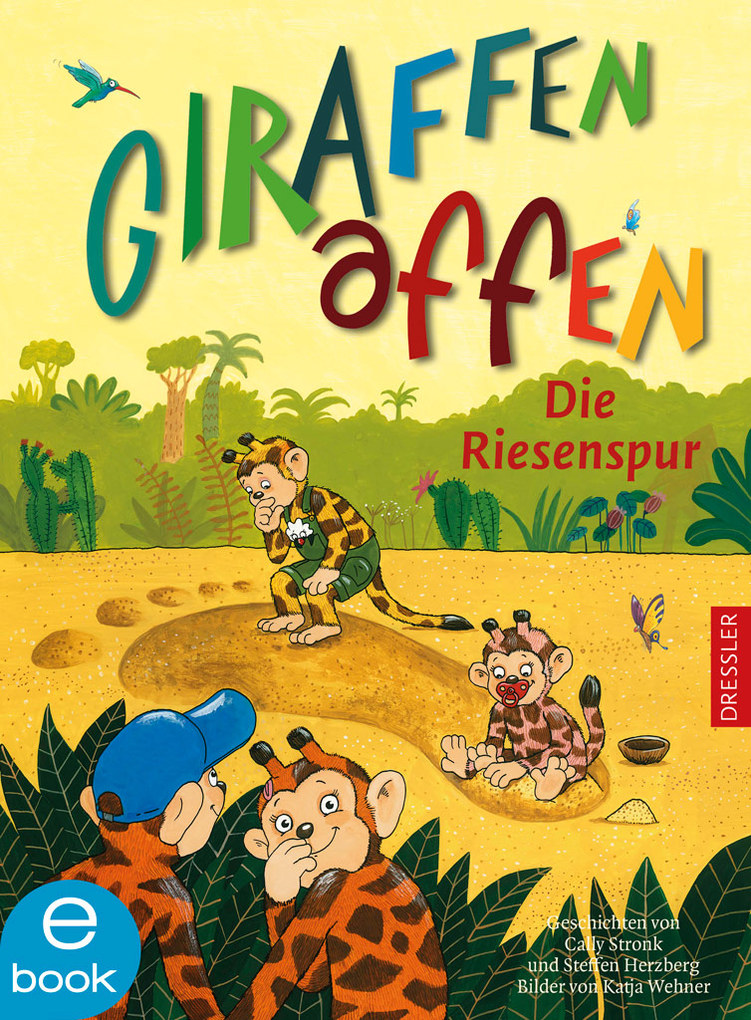 Giraffenaffen - Die Riesenspur als eBook