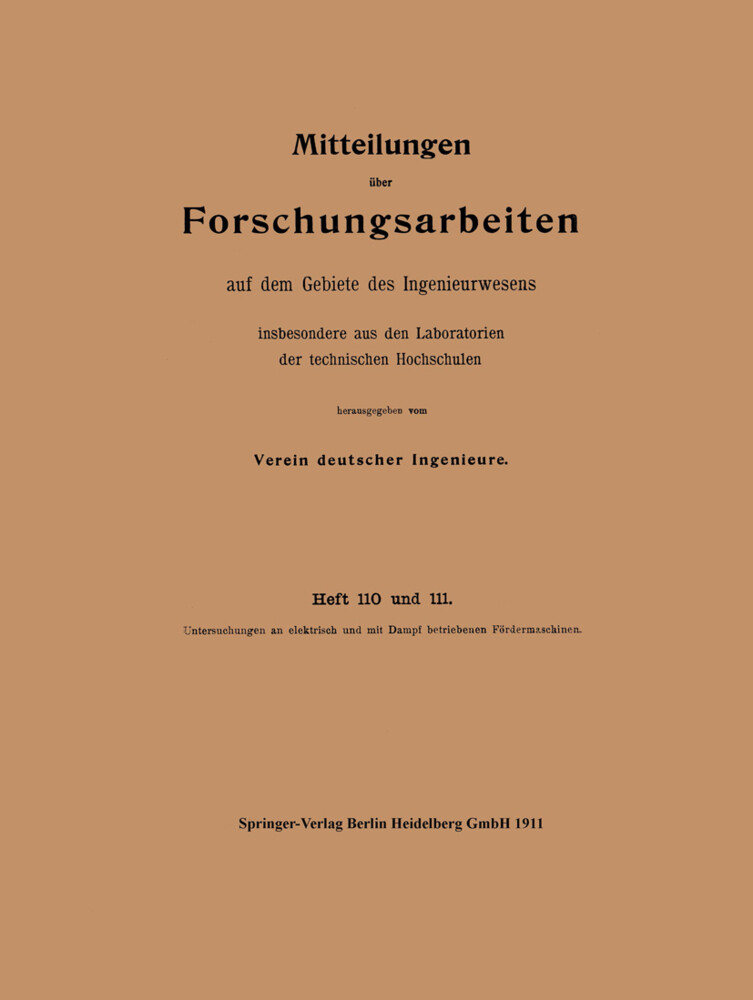 Mitteilungen über Forschungsarbeiten als Buch v...