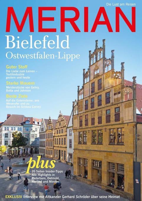 MERIAN Bielefeld mit Ostwestfalen-Lippe als Buc...