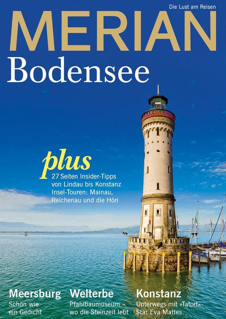 MERIAN Bodensee als Buch von
