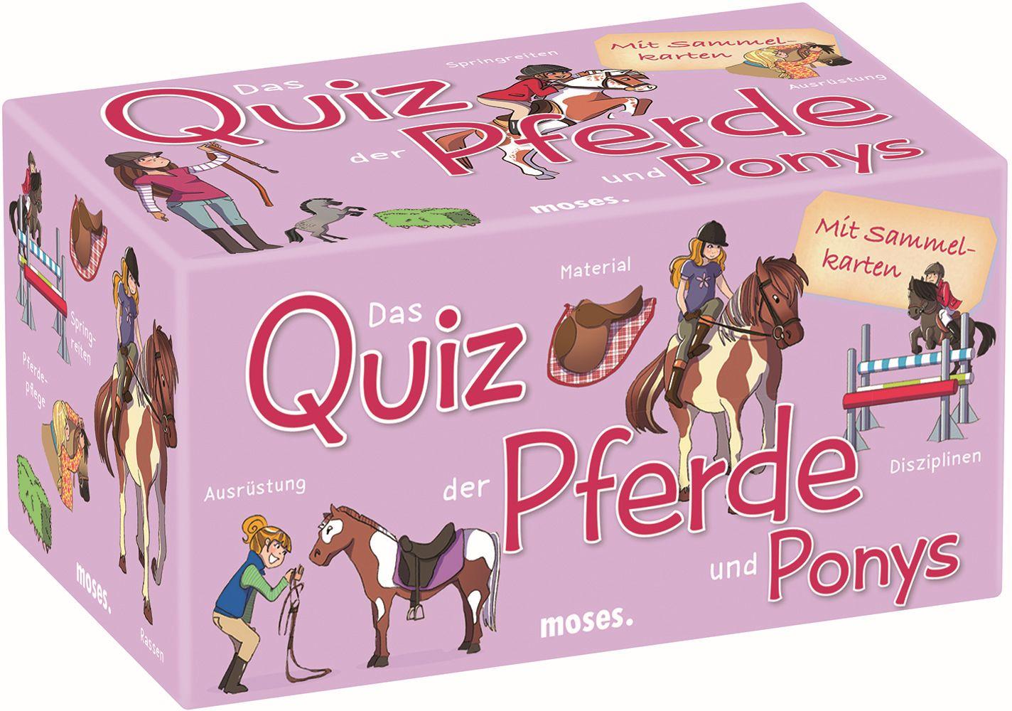 Das Quiz der Pferde und Ponys als sonstige Artikel