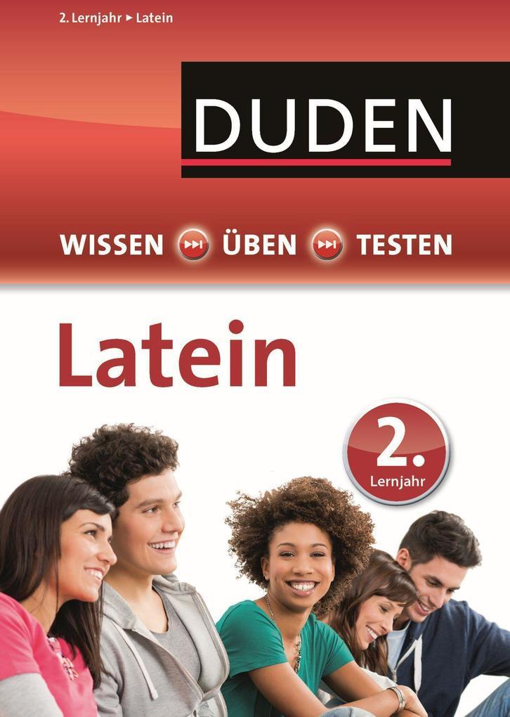 Duden Wissen - Üben - Testen, Latein 2. Lernjahr als Mängelexemplar