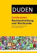 Schülerduden. Rechtschreibung und Wortkunde (kartoniert)