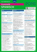 PONS Grammatik auf einen Blick Spanisch