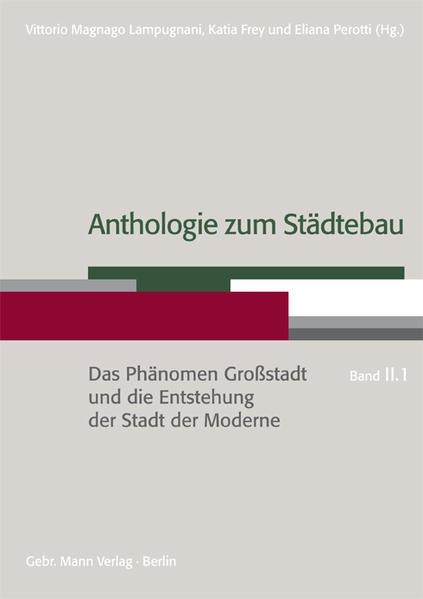 Anthologie zum Städtebau als Buch von