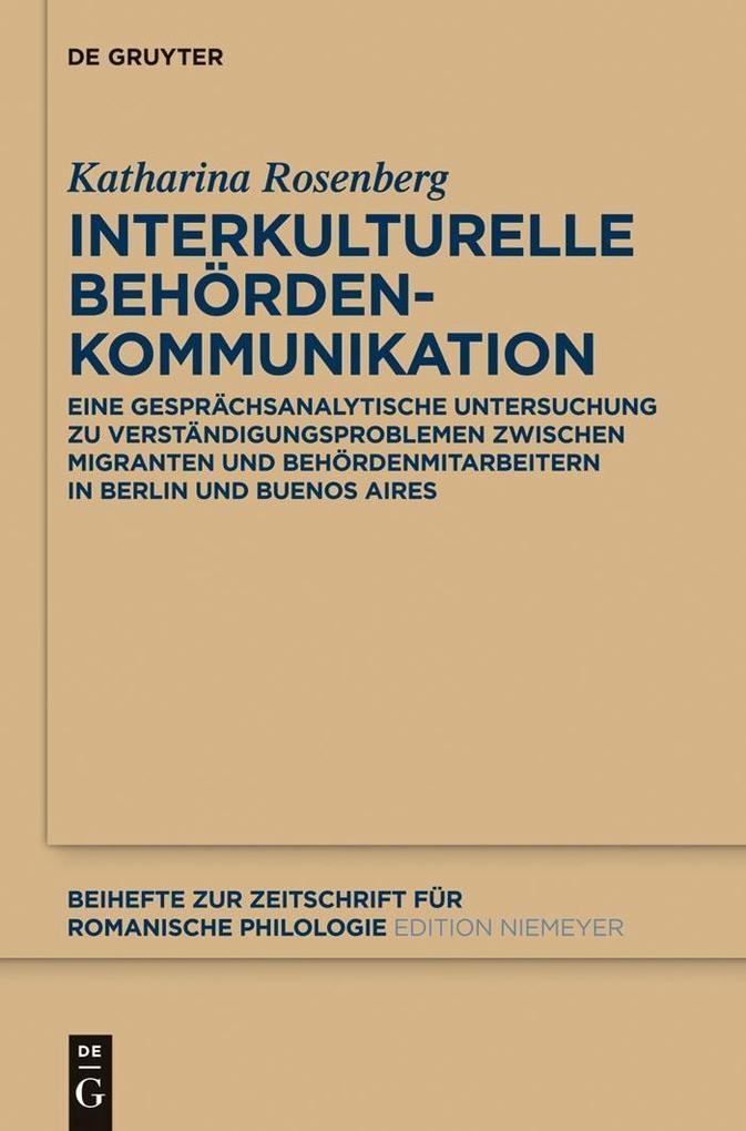 Interkulturelle Behördenkommunikation als eBook...