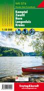Freytag & Berndt Wander-, Rad- und Freizeitkarte Kamptal, Zwettl, Horn, Langenlois, Krems