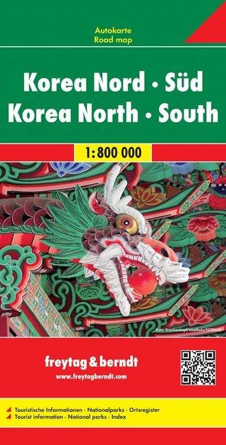 Korea Nord - Süd 1 : 800 000 als Buch von