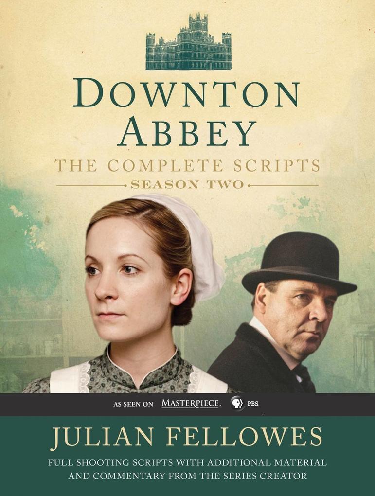 Downton Abbey Script Book Season 2 als eBook Do...