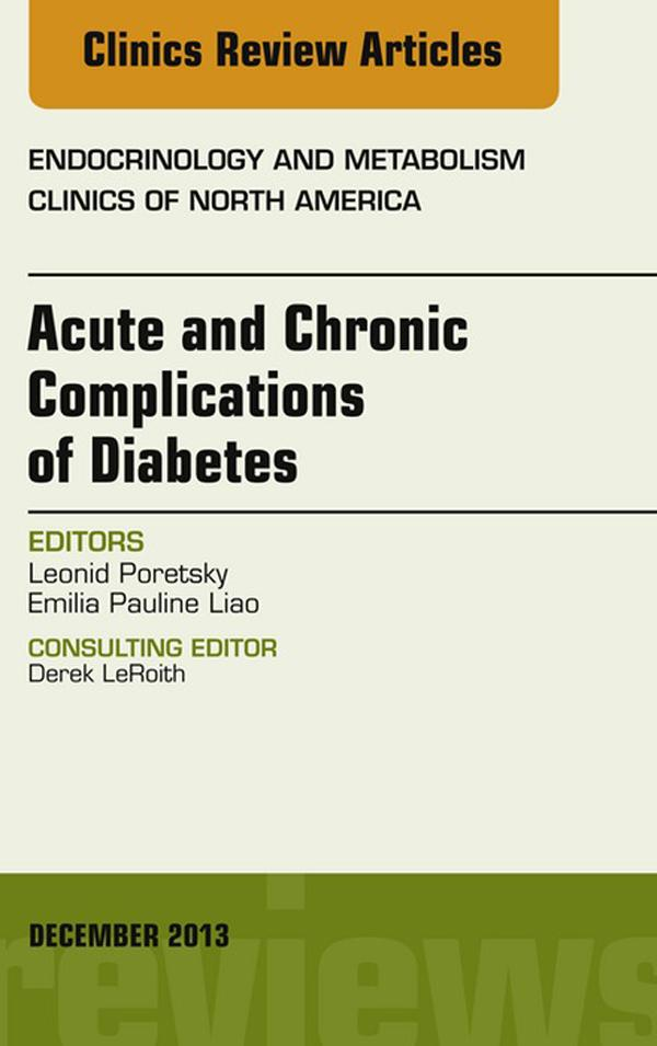 Acute and Chronic Complications of Diabetes, An...