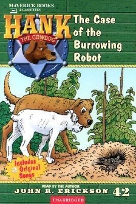 The Case of the Burrowing Robot als Hörbuch Kassette