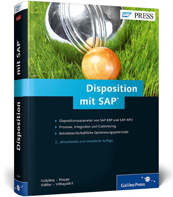 Disposition mit SAP als Buch von Ferenc Gulyáss...