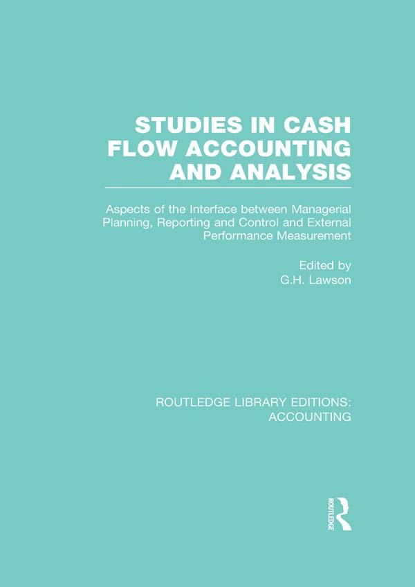 Studies in Cash Flow Accounting and Analysis (R...