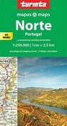 Portugal North 1 : 250 000