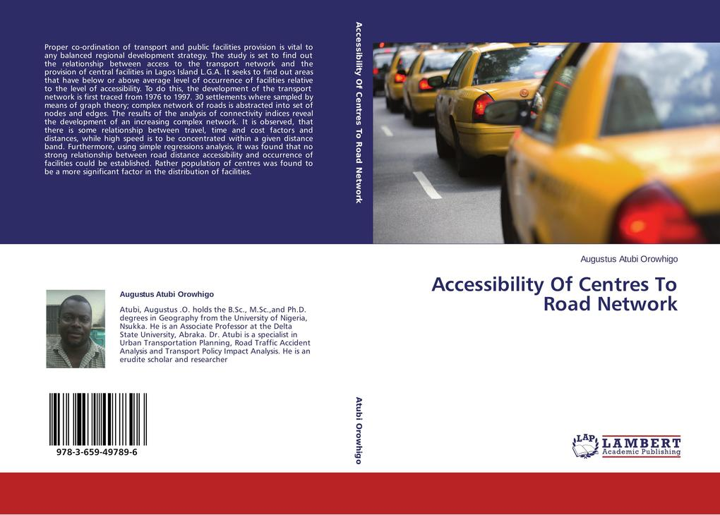 Accessibility Of Centres To Road Network als Bu...