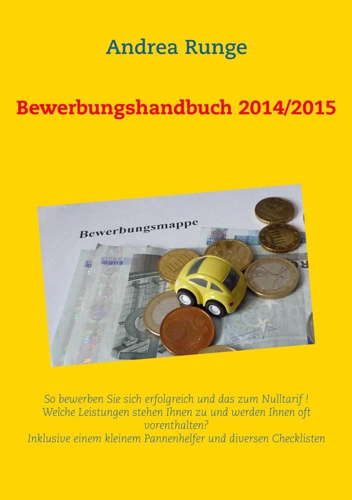 Bewerbungshandbuch 2014/2015 als eBook Download...