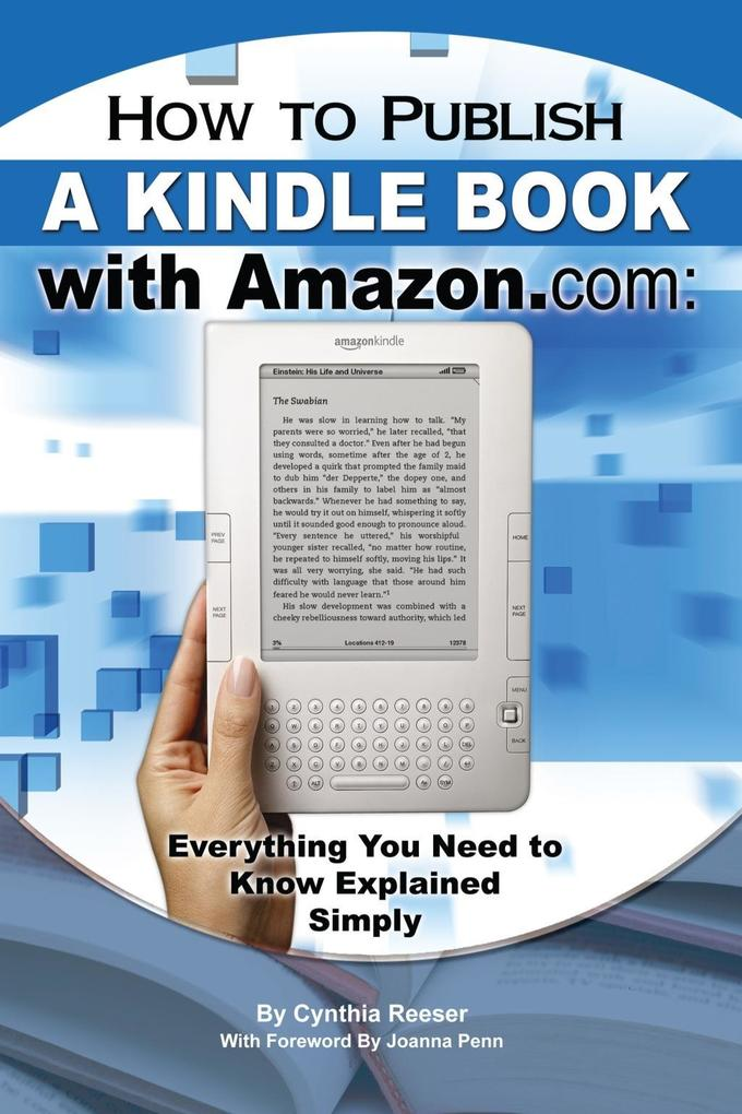 How to Publish a Kindle Book with Amazon.com al...