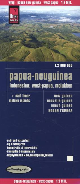 Reise Know-How Landkarte Papua-Neuguinea, Indon...