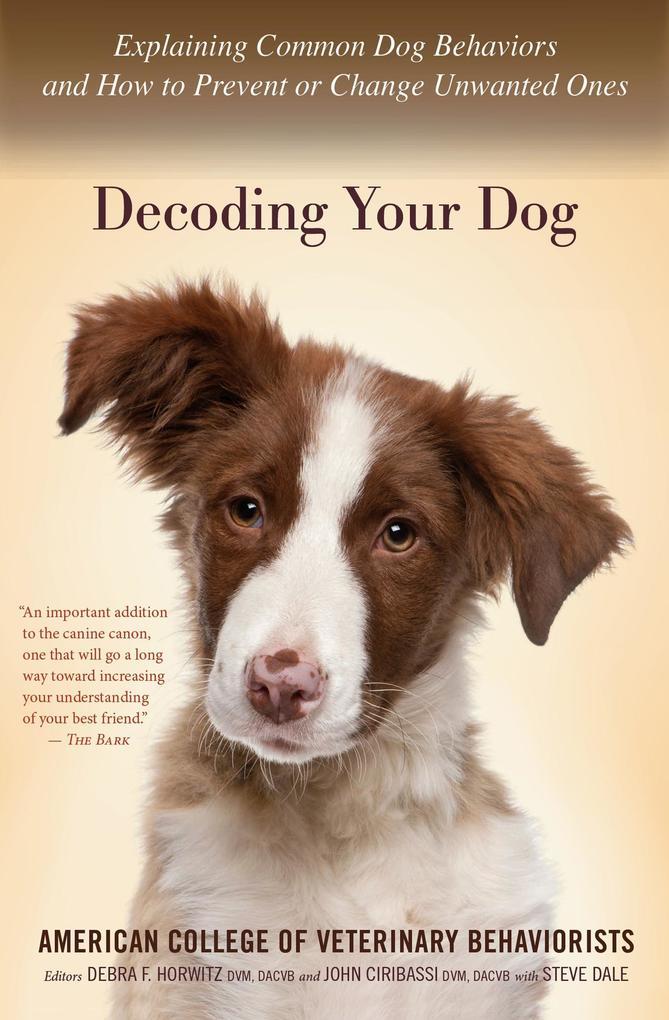 Decoding Your Dog als eBook Download von Americ...