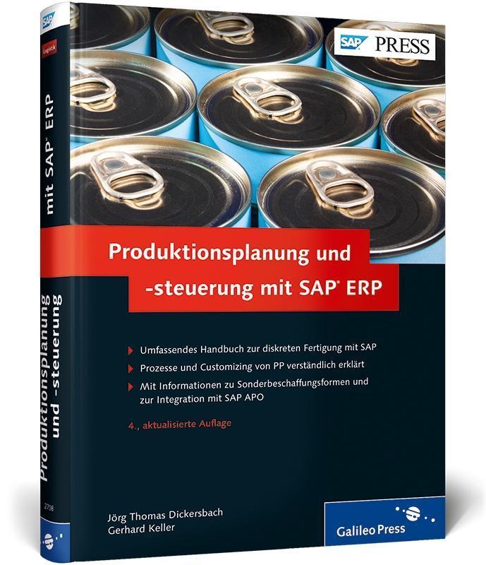 Produktionsplanung und -steuerung mit SAP ERP a...