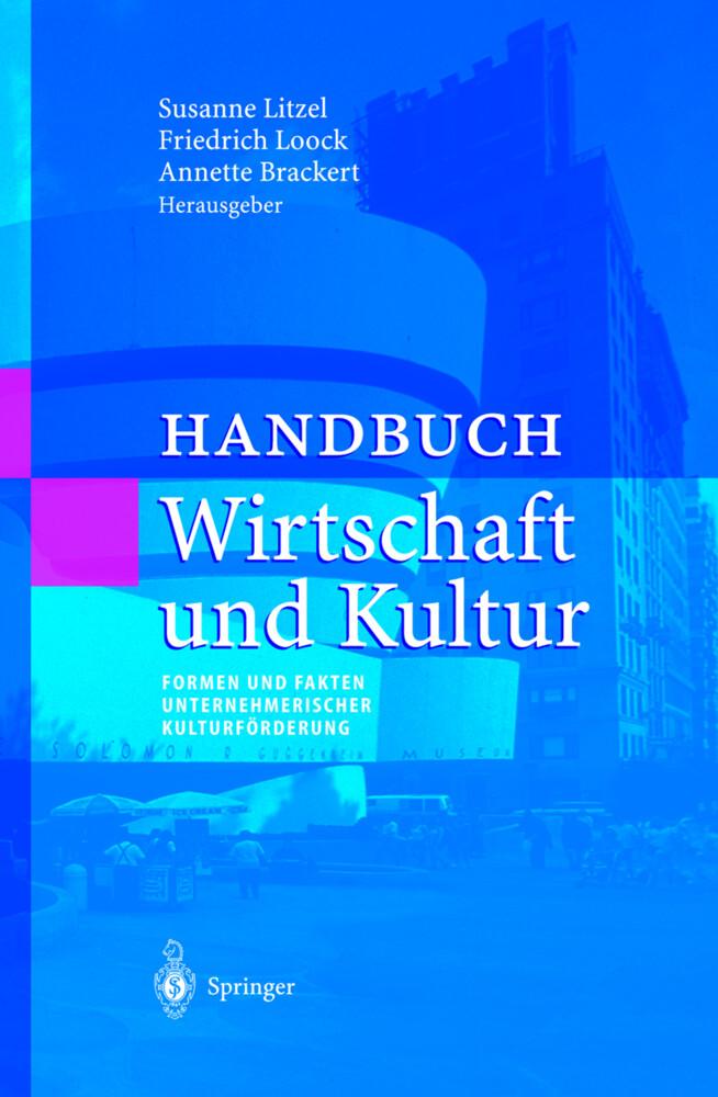 Handbuch Wirtschaft und Kultur als Buch