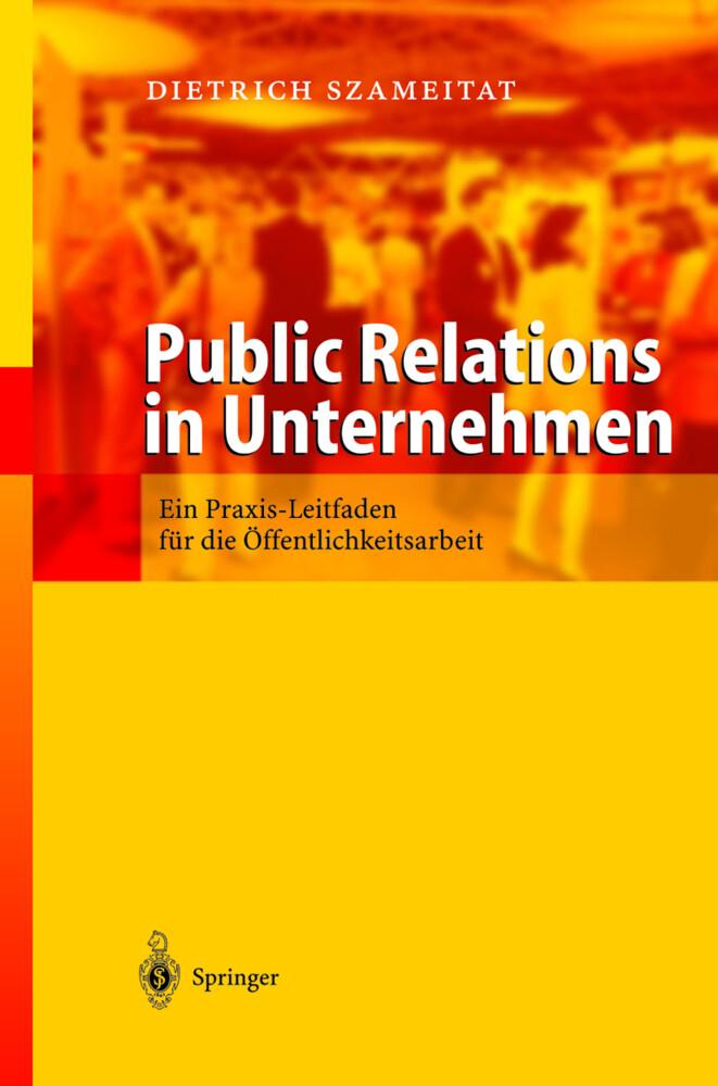 Public Relations in Unternehmen als Buch