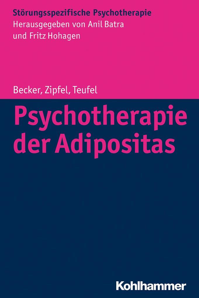 Psychotherapie der Adipositas als Buch (kartoniert)