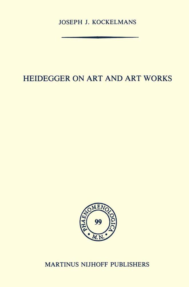 Heidegger on Art and Art Works als Buch