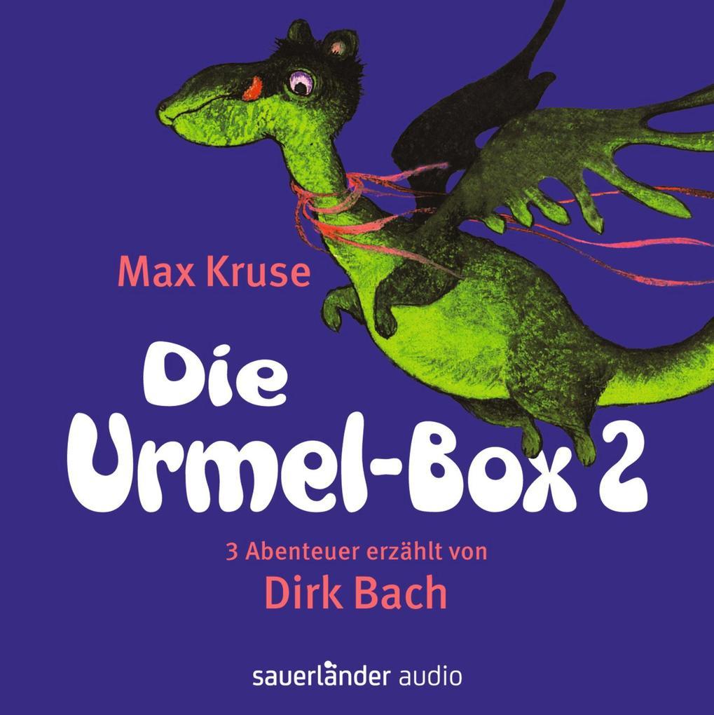 Die Urmel-Box 2 als Hörbuch CD von Max Kruse