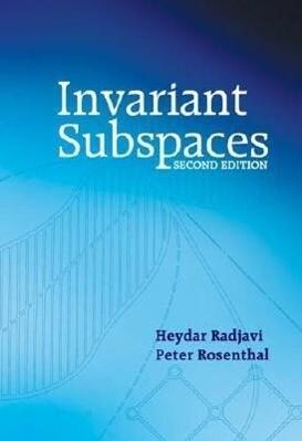 Invariant Subspaces als Taschenbuch