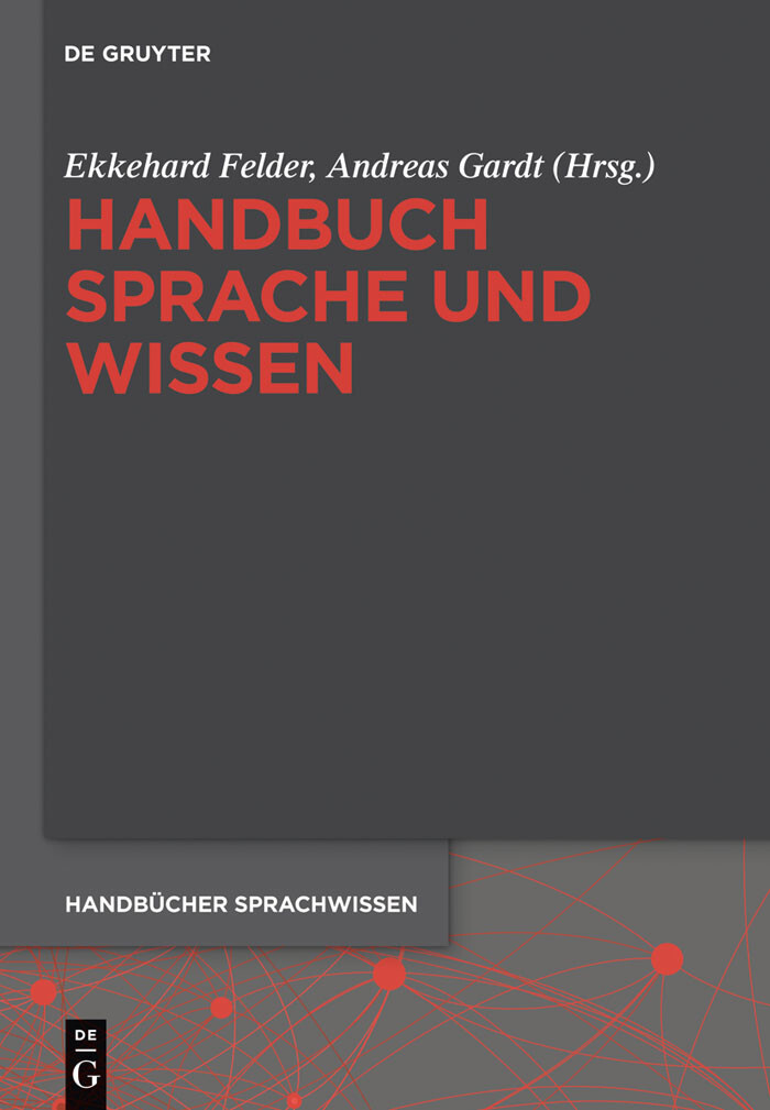 Handbuch Sprache und Wissen als eBook Download von