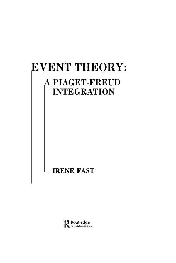 Event Theory als eBook Download von Irene Fast,...
