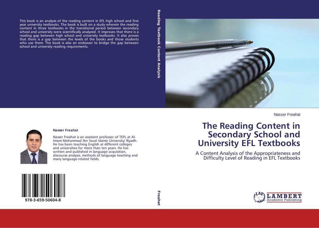The Reading Content in Secondary School and Uni...